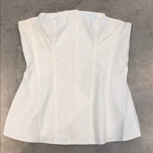 Theory Strapless Top